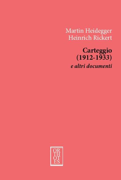 Heidegger_Rickert